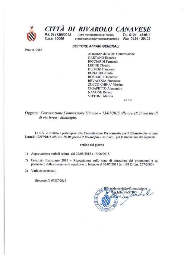 COMM. BILANCIO 13_07_2015