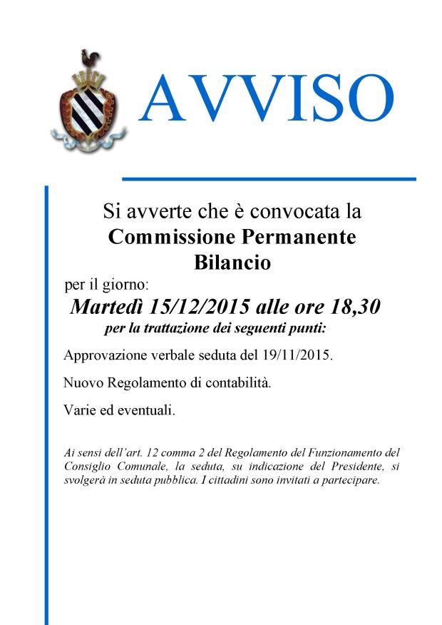 COMM. BILANCIO - 2015_12_15 ALL