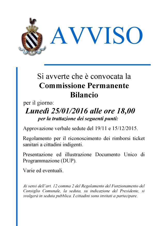 CONVOCAZIONE COMM. BILANCIO 2016_01_25 PUBBLICA.jpg